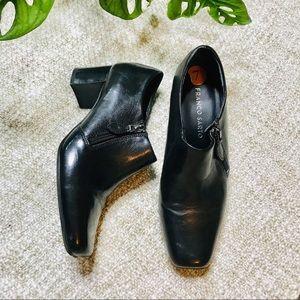 Franco Sarto Black Ankle Booties